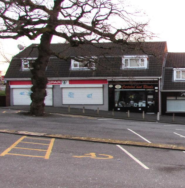Shuttered SPAR, 173 Larch Grove, Malpas, Newport