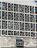 TQ2881 : Detail of college, Oxford Street by Stephen Richards