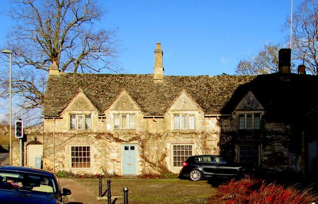 Grade II (star) Listed Symon Wysdom's House, Burford