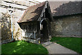 SU5494 : St Mary, Long Wittenham - south porch by David Kemp