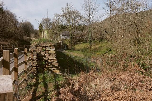 Dismantled railway, Willowrey Farm