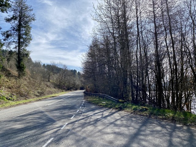 A470 Brecon to Merthyr road