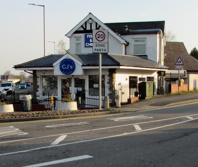 Reduced opening hours for CJ's fish & chips shop, Malpas, Newport