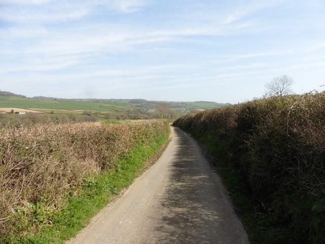 Lane to Hornshayne Farm