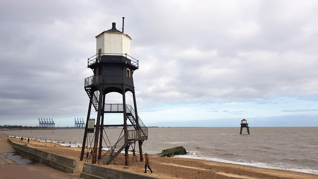 Dovercourt: The Dovercourt Lighthouses