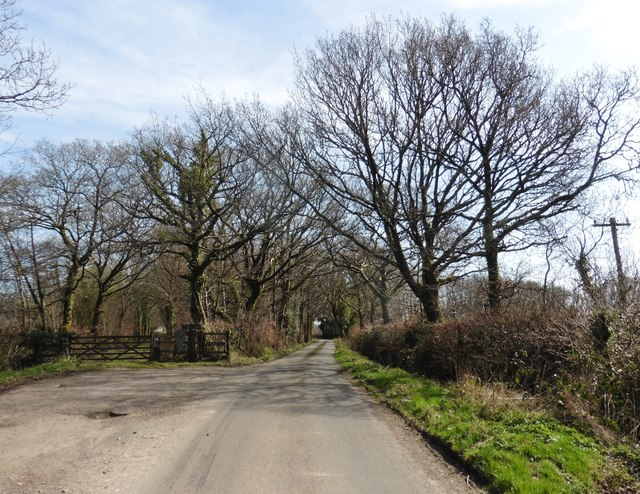 Minor road to Southleigh