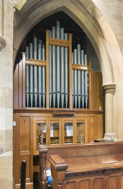 Organ, St Botolph's church, Quarrington