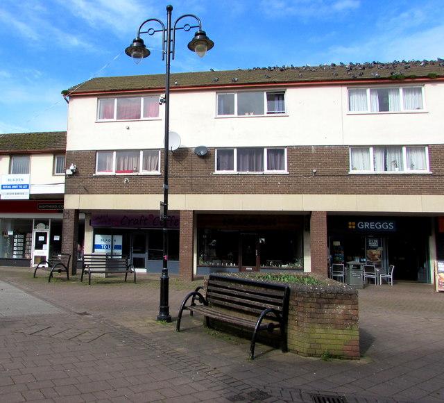 Newport Road benches, Caldicot