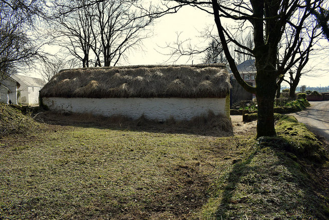 Thatched building, Ulster American Folk Park