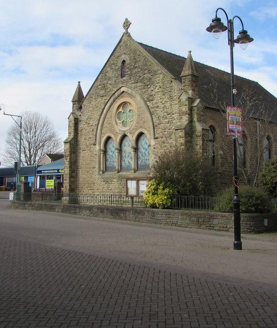 Southeast side of Caldicot Methodist Church