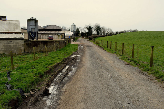 Muddy along Millbrae Road, Mullagharn (Young)