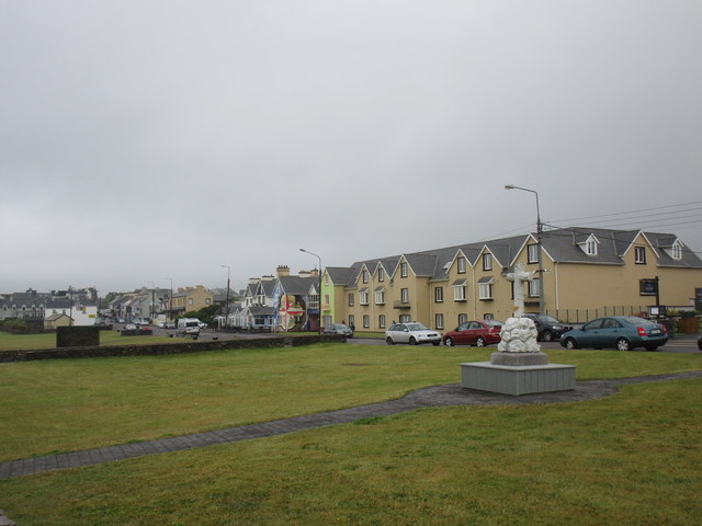 The sea front at Waterville