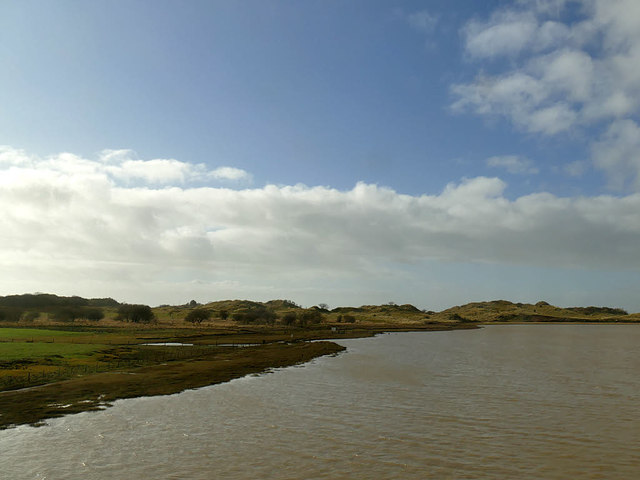 Estuary of the river Esk