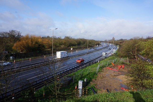 M4 from Datchet Road near Slough