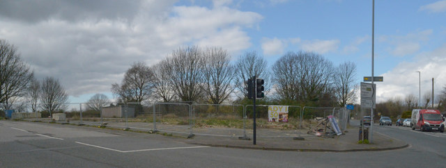 Site of the demolished Old Pack Horse, Hartshead Moor, Cleckheaton