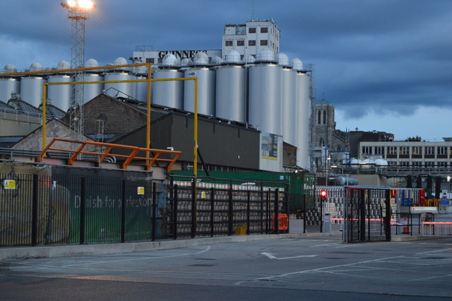 Tanks, Guinness Brewery