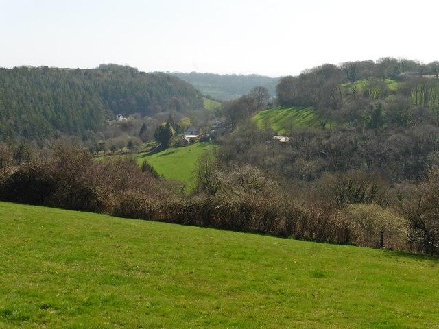 View towards Rockenhayne