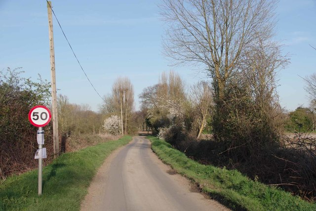 Fen Lane Near Poplars Farm