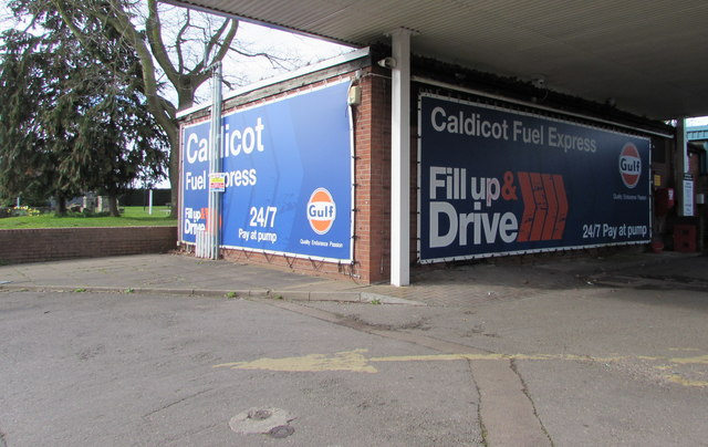 Caldicot Fuel Express name signs