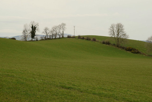 A low hill, Dunwish