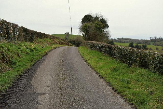 Muddy along Dunwish Road