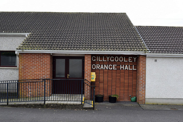 Entrance, Gillygooley Orange Hall