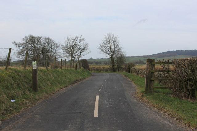 Lane by Moss Hall