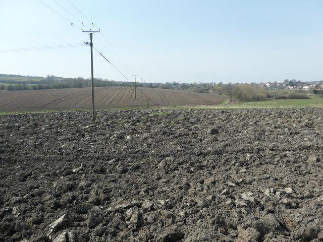 Farmland north-east of Ouchthorpe Farm