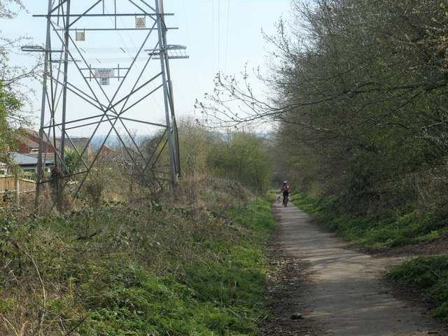 The Naggers Line, near Meadowcroft Road