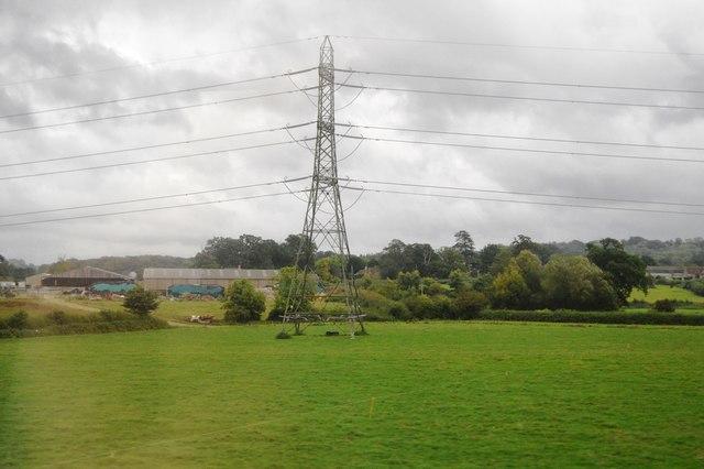Pylon near Berkley