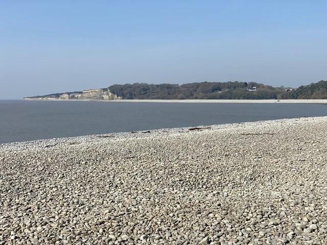 Pebble beach at Cold Knap