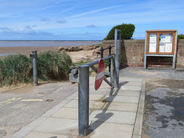 End of Stanley Road, Hilbre Point