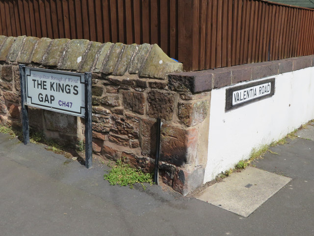 Corner of The King's Gap and Valentia Road, Hoylake