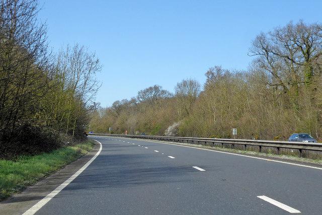 Northbound A404