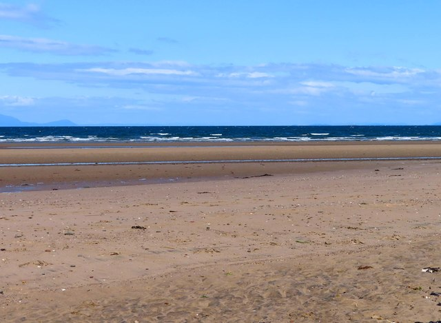 The beach at Ayr