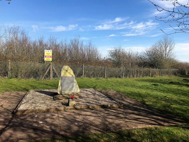 Granite Memorial to the Hanbury Explosion