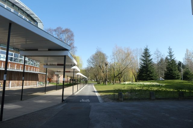 Walkway near Central Hall