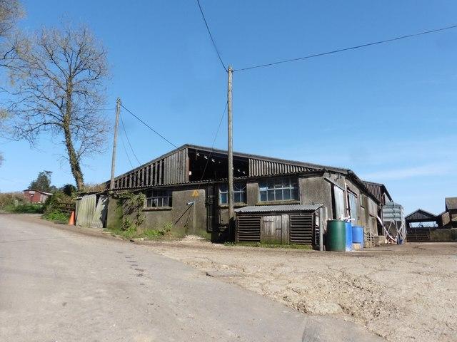 Outbuildings at Farwood Barton