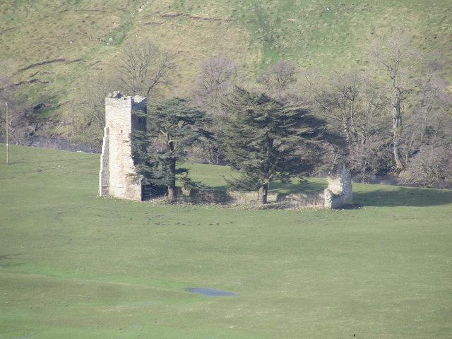 Ruins of Ellerton Priory