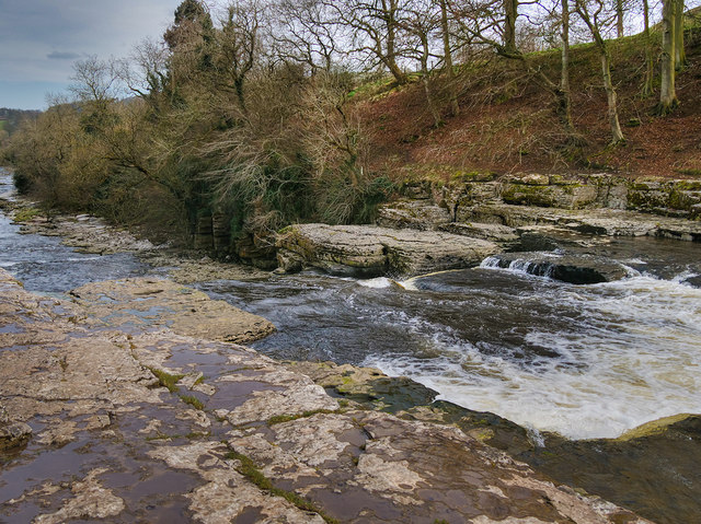 River Ure, Aysgarth Lower Force