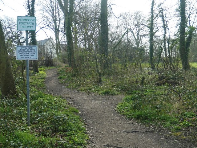 Permissive footpath, Normanton Golf Club