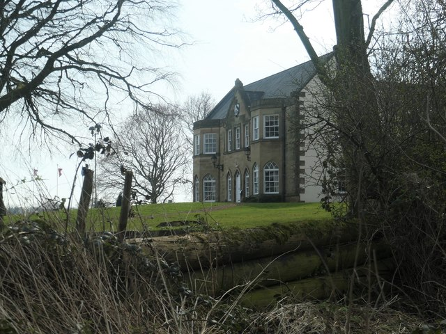 Hatfeild Hall from the north-east