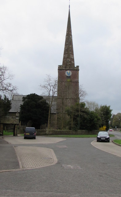 North side of St Mary's Church, Lydney