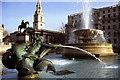 TQ3080 : Mermaid fountain, Trafalgar Square by Ian Taylor