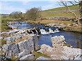 SD8780 : River Wharfe by David Dixon