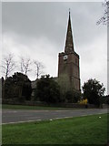 SO6302 : Northwest side of St Mary's Church, Lydney by Jaggery