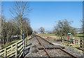 NZ0936 : Weardale Railway heading towards Wolsingham by Trevor Littlewood