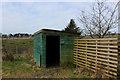 SD5745 : Ailsa Grove Bird Hide by Chris Heaton