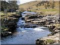 SD8879 : River Wharfe in Langstrothdale by David Dixon