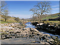 SD8879 : River Wharfe near New House by David Dixon